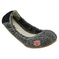 Women's Campus Cruzerz Bimini Auburn Tigers Slip-On Flats