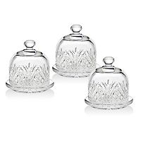 Godinger Dublin 3-pc. Crystal Butter Dish Set