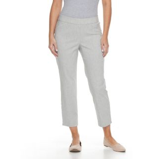 Petite Briggs Millennium Pull-On Ankle Pants
