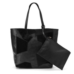 Juicy Couture Right Now Patchwork Tote with Pouch