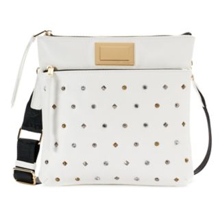 Juicy Couture Studded Flat Crossbody Bag