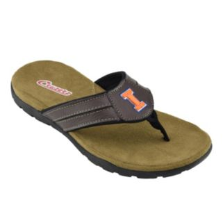 Men's Illinois Fighting Illini Pregame Flip-Flops