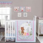 Trend Lab My Little Friends 6 pc Crib Bedding Set
