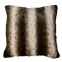 Spencer Home Decor Mambeaux Faux Fur Throw Pillow