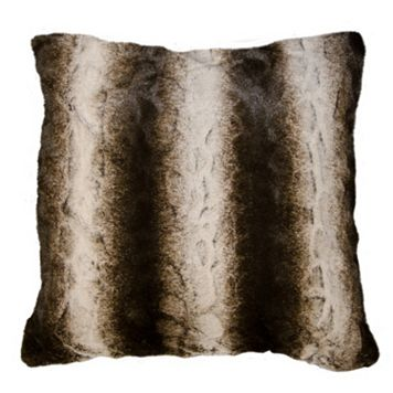 Spencer Home Decor Mambeaux Faux Fur Throw Pillow