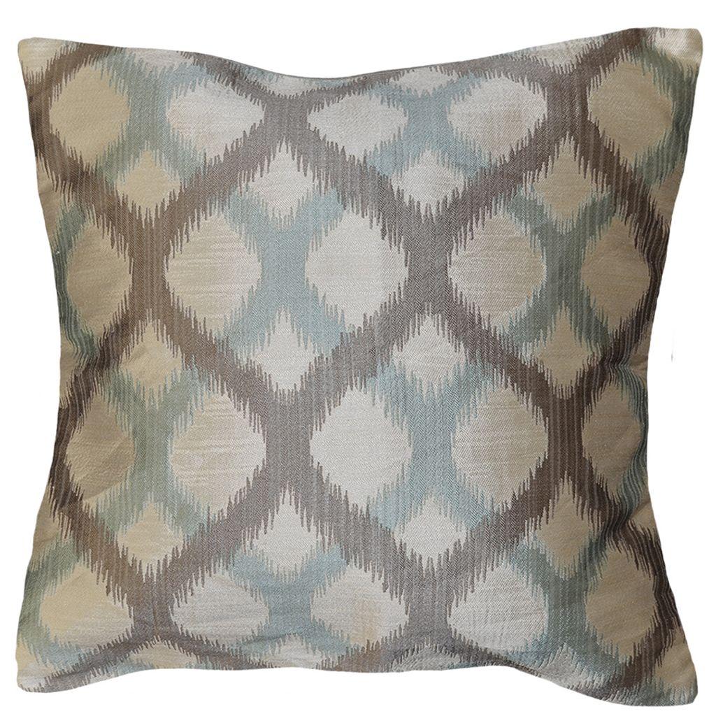 Spencer Home Decor Mindi Geometric Lattice Throw Pillow