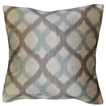 Spencer Home Decor Mindi Geometric Lattice Throw Pillow