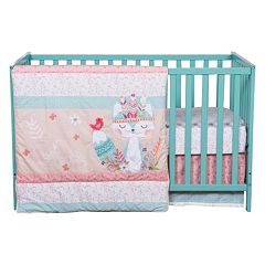 Trend Lab Wild Forever 3 pc Crib Bedding Set