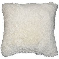Spencer Home Decor Polar Bear Faux Fur Throw Pillow