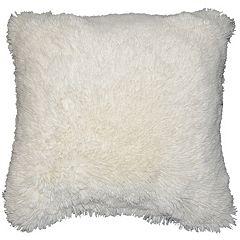 Spencer Home Decor Polar Bear Faux Fur Throw Pillow