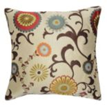 Spencer Home Decor Renata Floral Throw Pillow