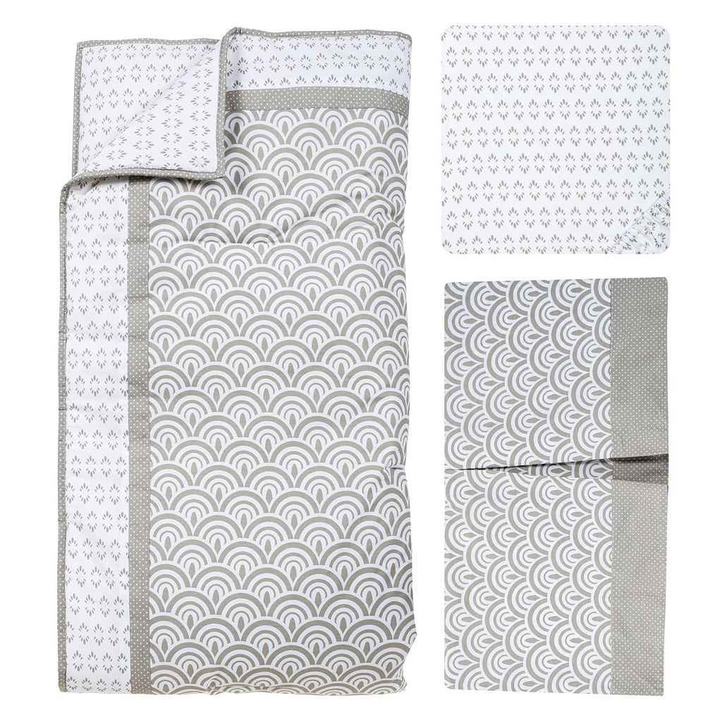 Trend Lab Art Deco 3-pc. Crib Bedding Set