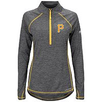 Women's Majestic Pittsburgh Pirates Don't Stop Trying Pullover