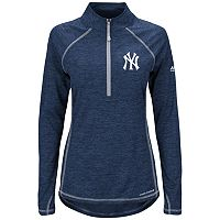 Women's Majestic New York Yankees Don't Stop Trying Pullover