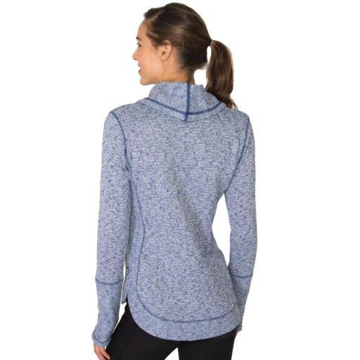 Women's RBX Cowlneck Brushed Back Slubbed Sweater