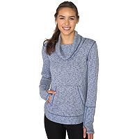 Women's RBX Cowlneck Brushed Back Slubbed Sweater