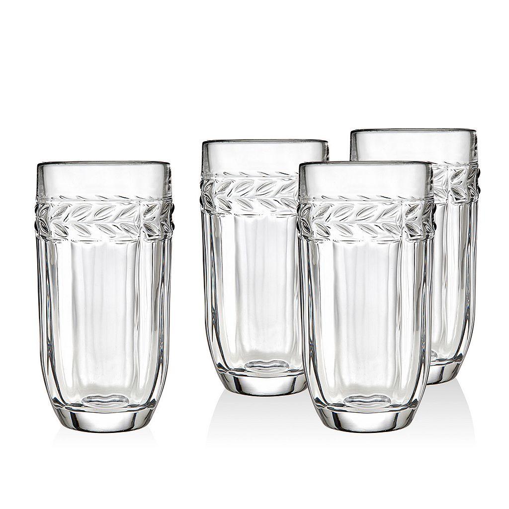 Godinger Classico 4-pc. Crystal Highball Glass Set