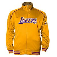 Big & Tall Majestic Los Angeles Lakers Fleece Track Jacket