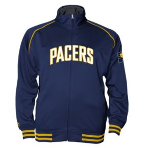 Big & Tall Majestic Indiana Pacers Fleece Track Jacket