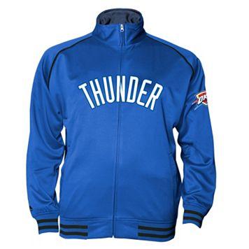 Big & Tall Majestic Oklahoma City Thunder Fleece Track Jacket