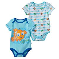 Disney / Pixar Finding Nemo Baby Boy 2-pk. Graphic & Print Bodysuits
