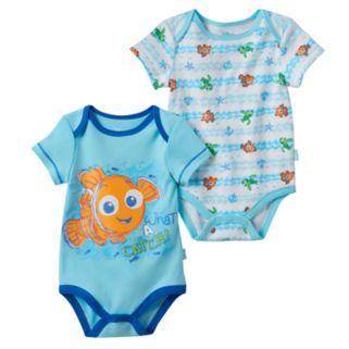 Disney / Pixar Finding Nemo Baby Boy 2-pk. Graphic & Print Bodysuits