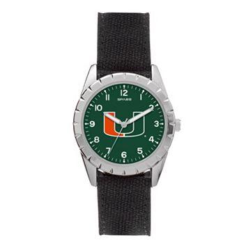 Kids' Sparo Miami Hurricanes Nickel Watch