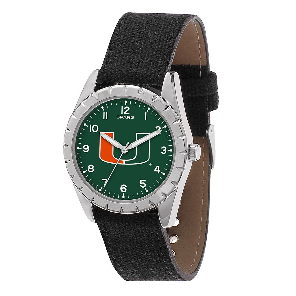 Kids' Sparo Miami Hurricanes Nickel Watch