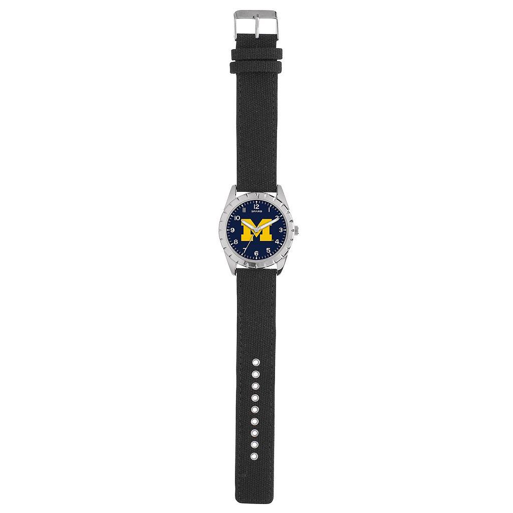 Kids' Sparo Michigan Wolverines Nickel Watch