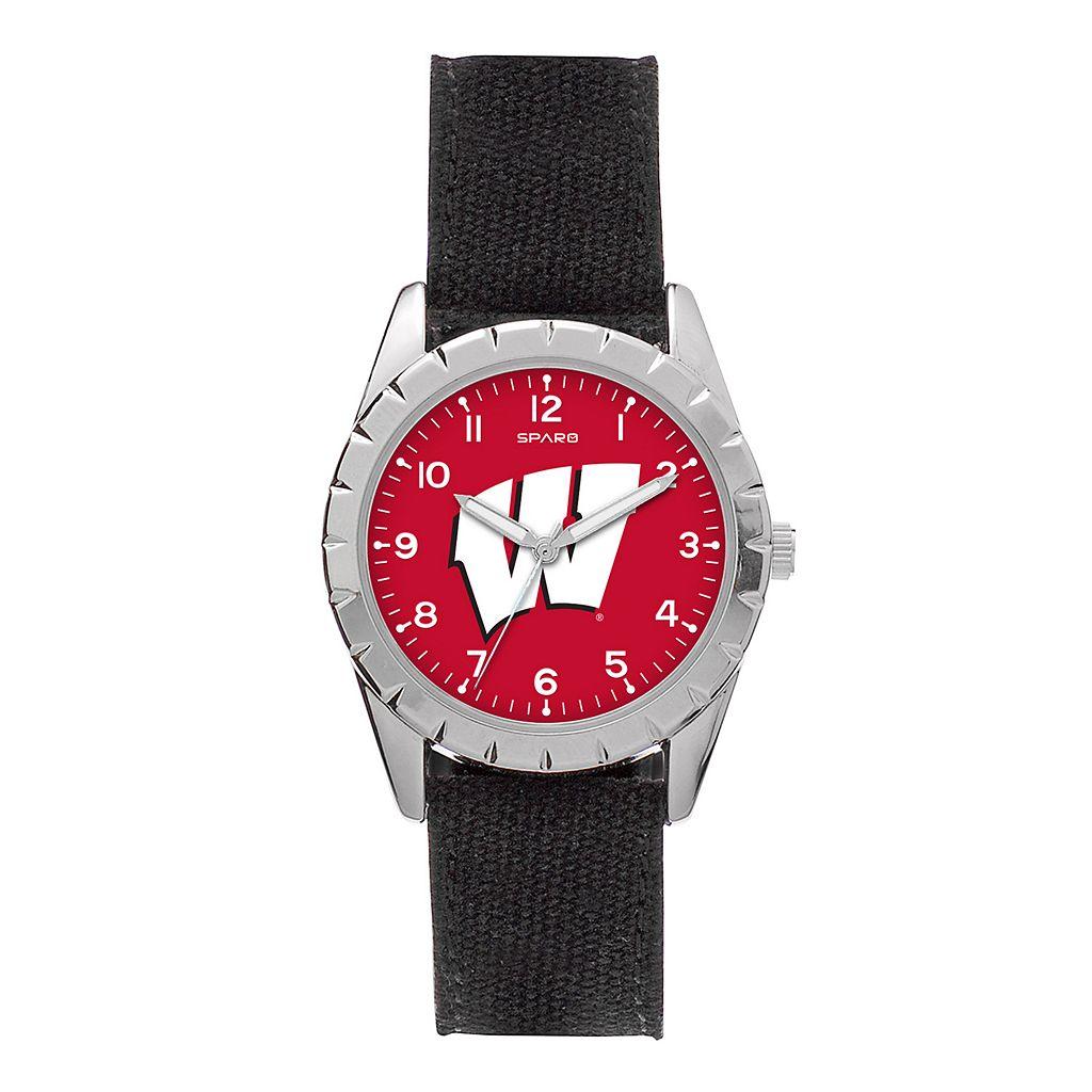 Kids' Sparo Wisconsin Badgers Nickel Watch