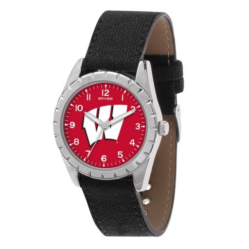 Kids' Sparo Wisconsin Badgers Nickel Watch