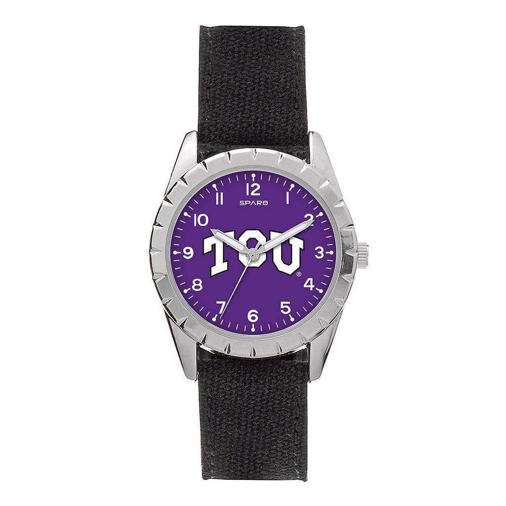 Kids' Sparo TCU Horned Frogs Nickel Watch
