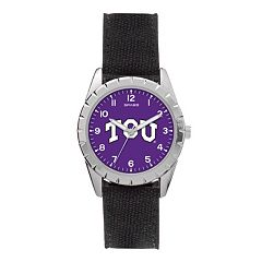 Kids' Sparo TCU Horned Frogs Nickel Watch