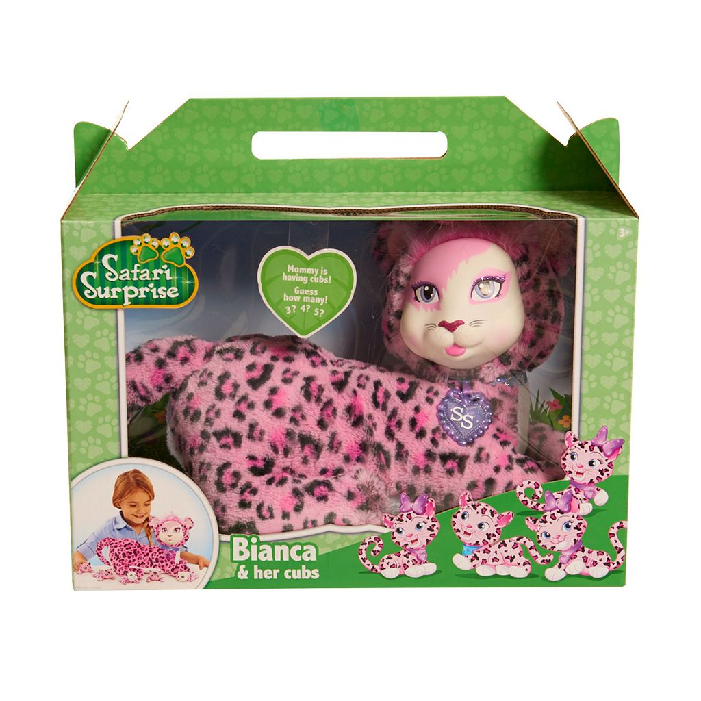 Safari Surprise Bianca Plush Toy