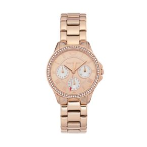 Juicy Couture Women's Gwen Crystal Stainless Steel Watch