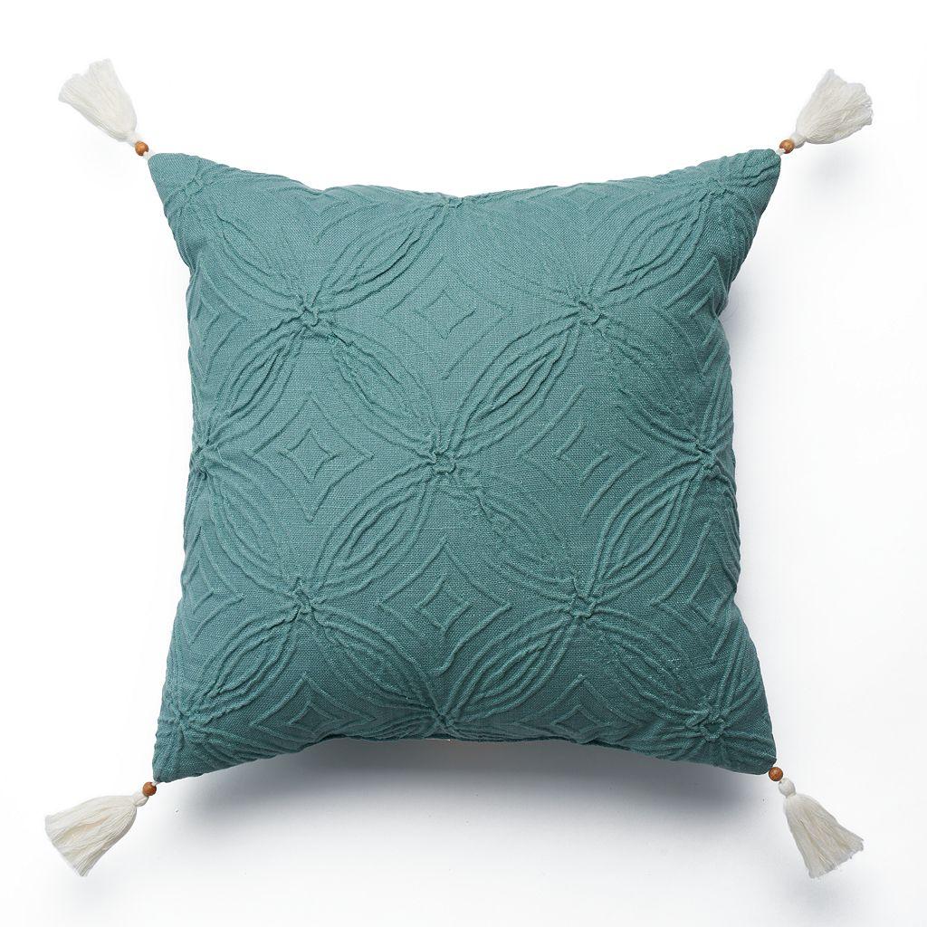 SONOMA Goods for Life™ Jacquard Geo Throw Pillow
