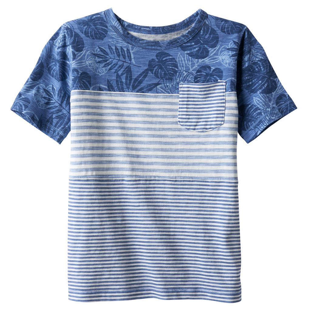 Boys 4-7x SONOMA Goods for Life™ Patterned Short Sleeve Tee