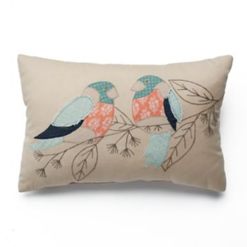SONOMA Goods for Life™ Patchwork Bird Throw Pillow