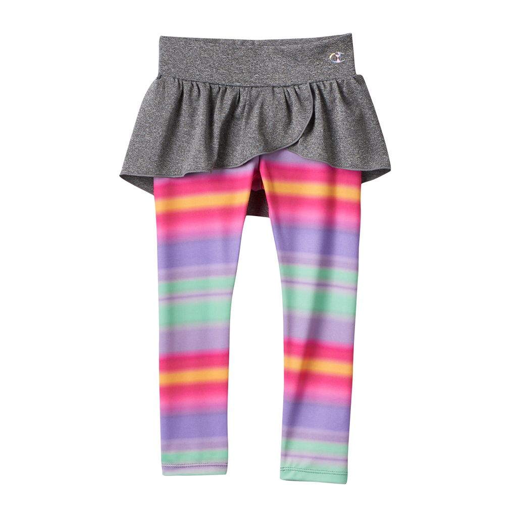 Girls 4-6x Champion Ruffled Skirted Leggings