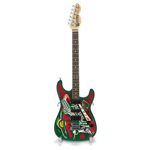 Minnesota Wild NorthEnder Collector Series Mini Replica Electric Guitar