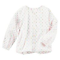 Girls 4-8 OshKosh B'gosh® Clip-Dot Shirt