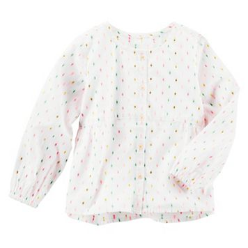 Girls 4-8 OshKosh B'gosh® Clip-Dot Shirt