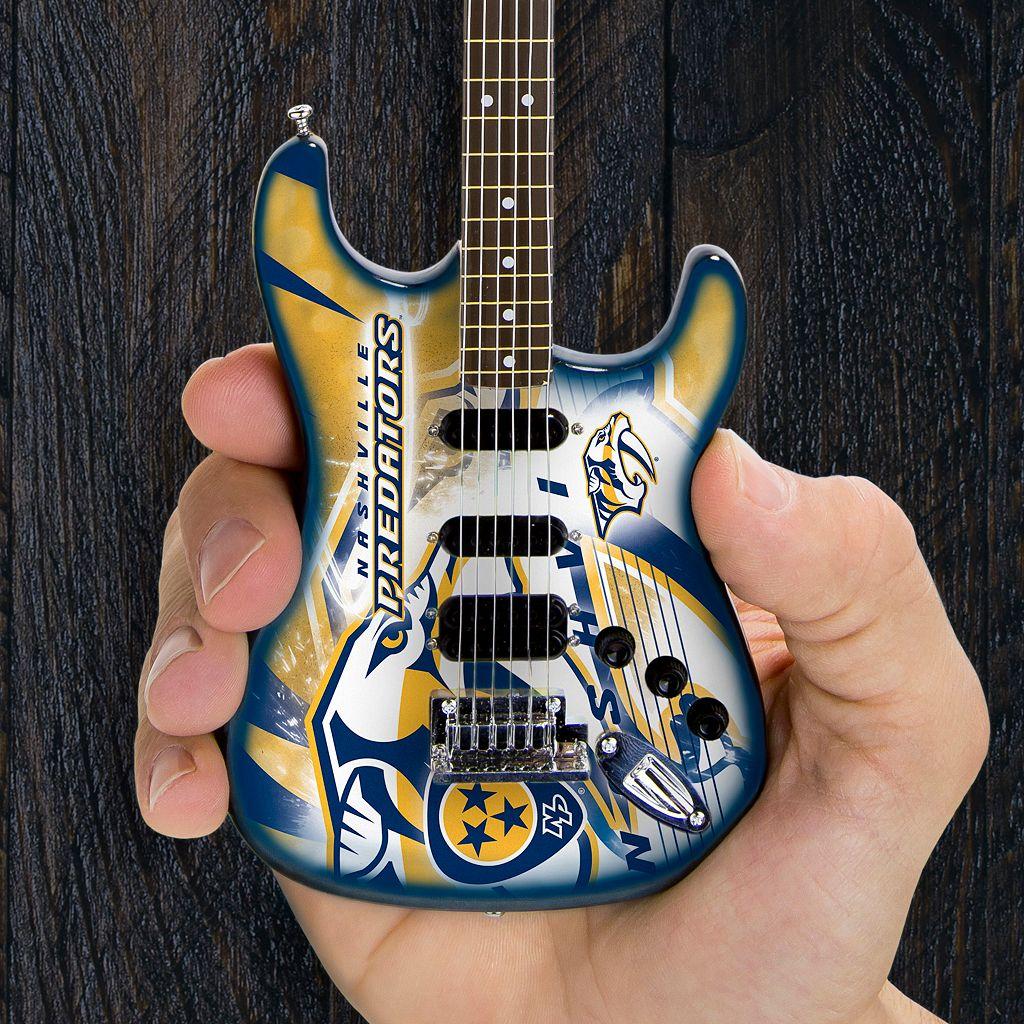 Nashville Predators NorthEnder Collector Series Mini Replica Electric Guitar