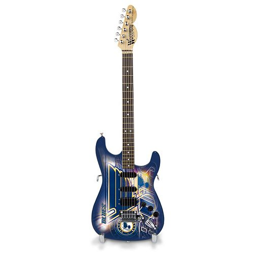St. Louis Blues NorthEnder Collector Series Mini Replica Electric Guitar
