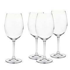 Godinger Meridian 4-pc. Crystal Red Wine Glass Set