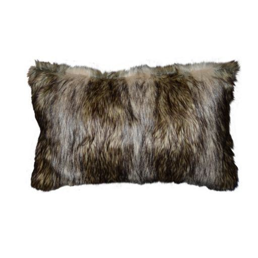 Spencer Home Decor Richmond Faux Fur Oblong Throw Pillow