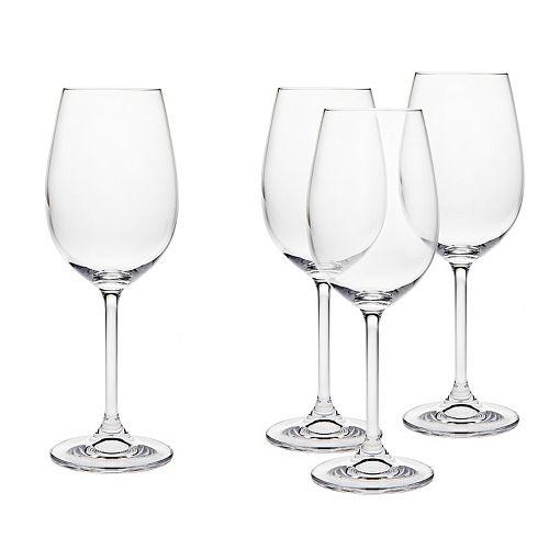 Godinger Meridian 4-pc. Crystal White Wine Glass Set