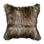 Spencer Home Decor Richmond Faux Fur Throw Pillow