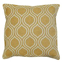 Spencer Home Decor Arabian Nights Lattice Chenille Throw Pillow
