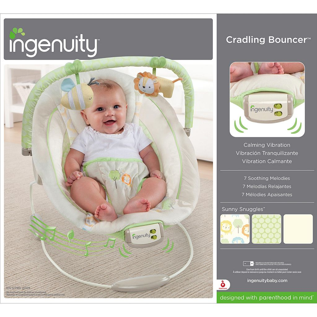 InGenuity Sunny Snuggles Cradling Bouncer